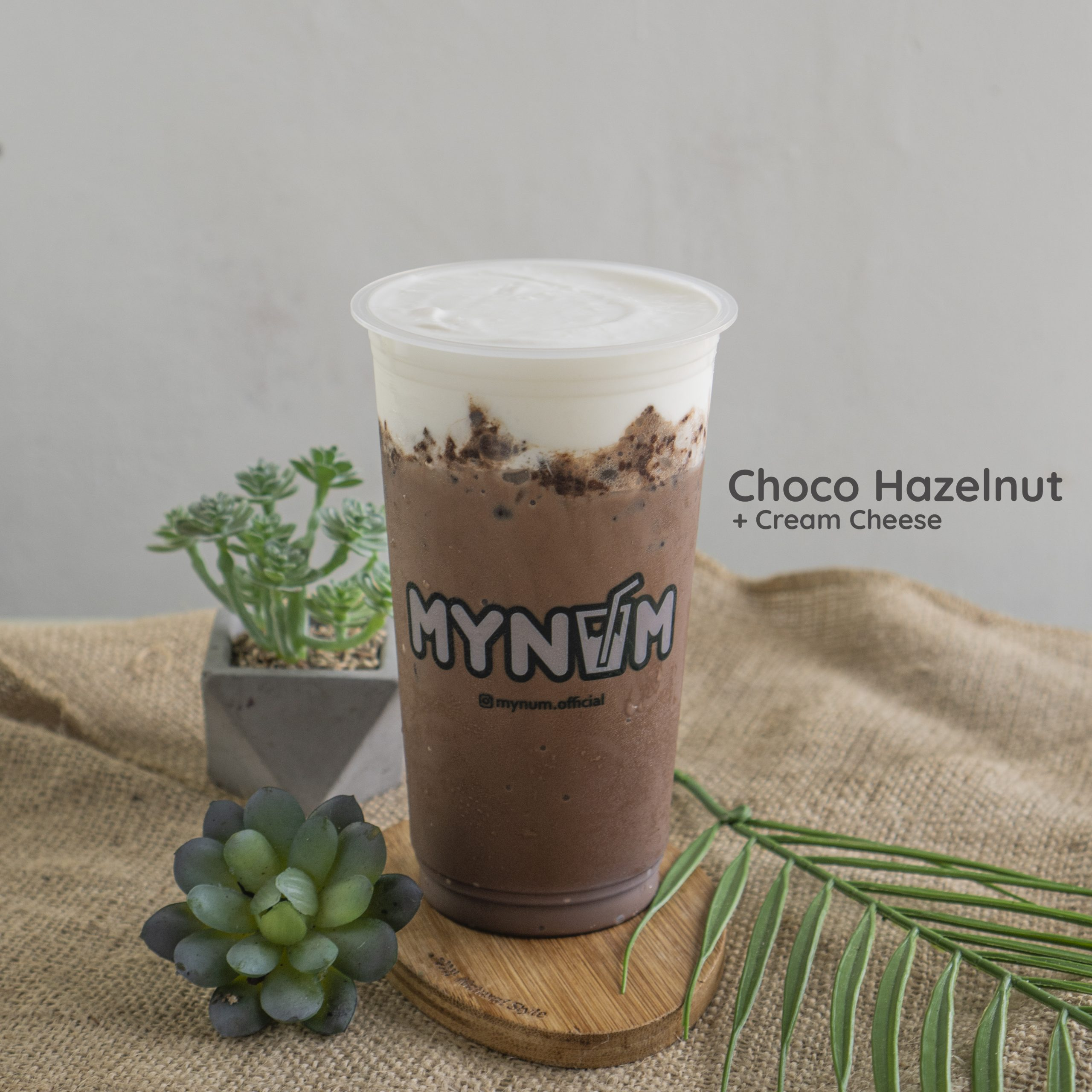 11. Choco Hazelnut Cream Cheese