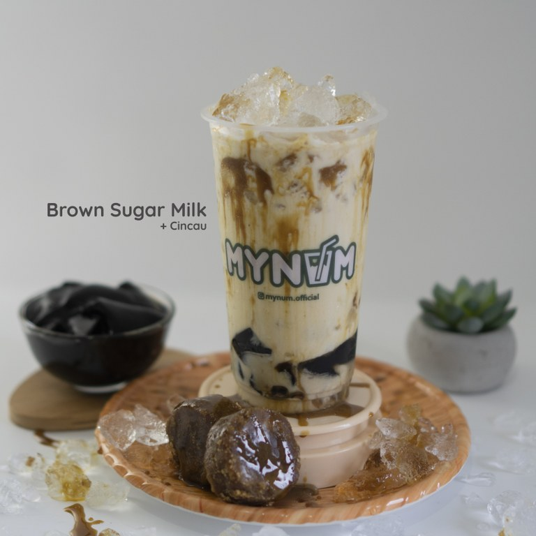 14. Brown Sugar Miilk With Cincau_768x768