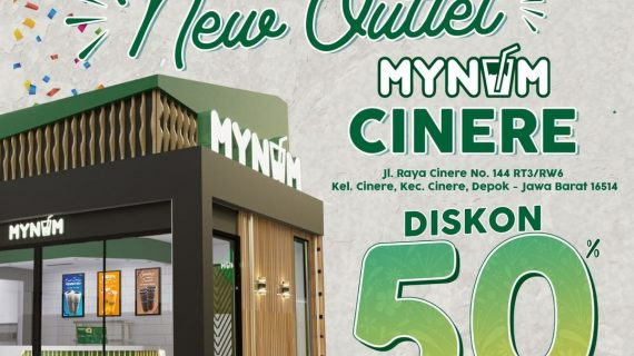 Mynum hadir di Cinere Depok